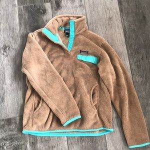 Patagonia half button fleece